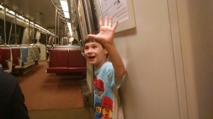 First time on the Metro