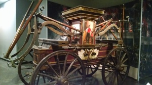 One of the first fire engines